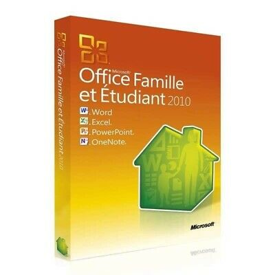 Microsoft Office 2010 Pack Famille&Étudiant