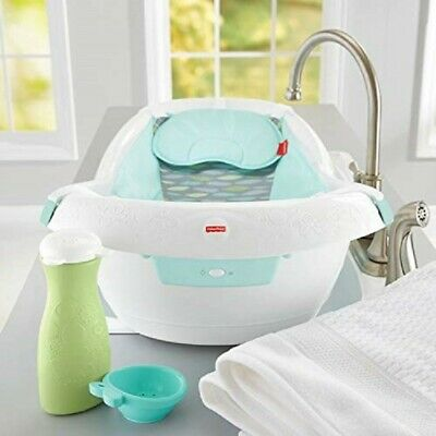 Fisher-Price Baby Soothing Bathtub Seat Calming Vibrations Tub Infant Bath Child