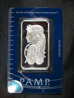 GORGEOUS PAMP SWISS .999 SILVER BAR 1 OZ. SEALED IN ASSAY ~ Pamp Suisse