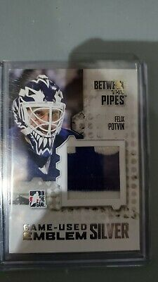 2007-08 In The Game Between The Pipes Felix Potvin Patch 2010 Spring Expo 1/1!