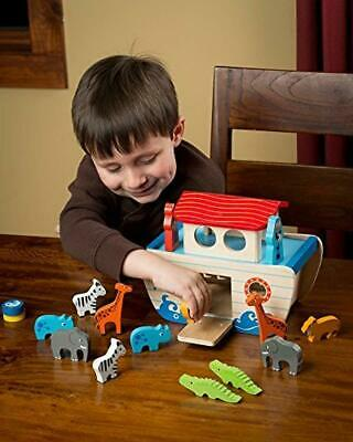 Wooden Playset: Educational  Animal Toys in Pairs for Toddlers, Colorful
