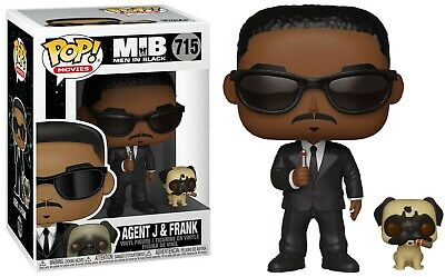 Men In Black Funko POP! Movies Agent J & Frank Vinyl Figure & Buddy #715
