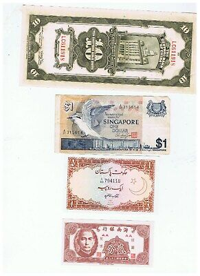 World Banknotes selection of 22 (E86) – Free postage