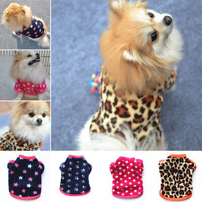 Puppy Warm Soft Jumper Apparel Winter Clothes Cat Vest Halloween Dog Pet Coat