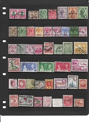 Commonwealth pre QE2 used collection
