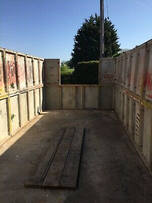 concrete garage 9'by 20' in excellent condition.