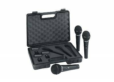 Behringer XMS1800S - 3 Pack Of Microphones In Case!