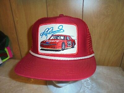 c2bf1b684b7 Vintage Rare Tim Richmond  25 Folgers Racing Team Mesh Snap Back Hat Made  In USA