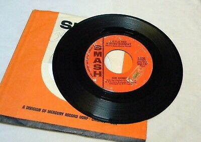 Joe Dowell Little Red Rented Rowboat / The One I Left For You 45 Rpm Record