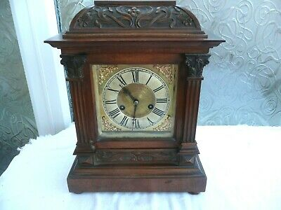 Antique HAC Bracket Clock in Superb Original Untouched Condition & Working Order