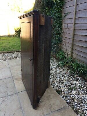 18 Century mahogany corner cabinet for sale. Good condition. Buyer to collect.
