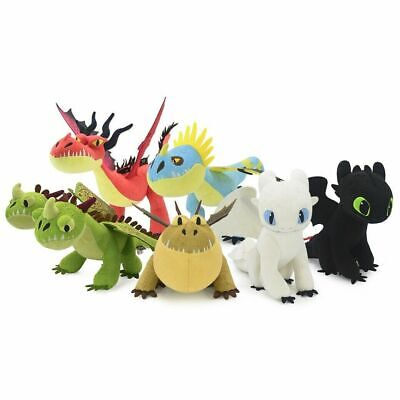 Official Licensed How to Train Your Dragon The Hidden World Plush Doll Soft Toys