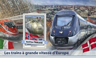 Z08 Imperf Djb17510b Djibouti 2017 Japan Speed Trains Mnh ** Postfrisch Briefmarken
