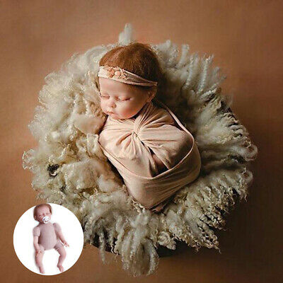 52cm Silicone Limbs Photo Props Posing Reborn Newborn Dolls Infant Baby Handmade