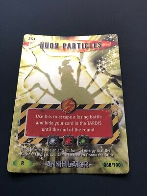 Doctor Who Battles In Time Annihilator Huon Particles Rare 88/100