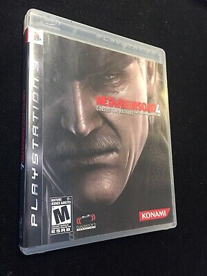 Metal Gear Solid 4: Guns of the Patriots - Sony PlayStation 3 PS3