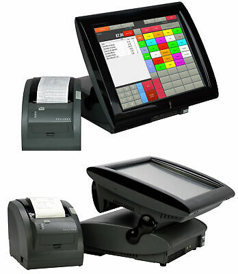 Cash Register System Aures Posligne Elo Bonprinter Software Customer Display #1