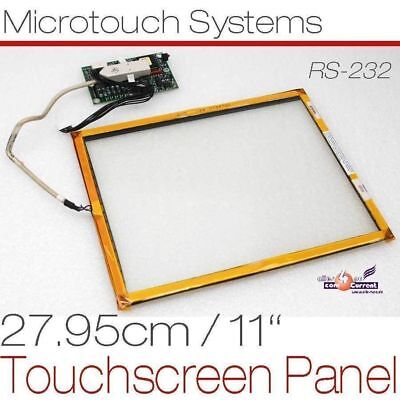 "26cm 10 "" 10,4 "" Touch Screen Panel Microtouch Glassplate for Continuous"