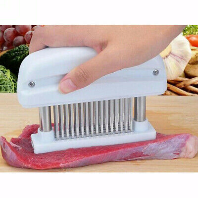 New Top-grade 48 Stainless Steel Blade Knife Column Meat Tenderizer Kitchen Tool