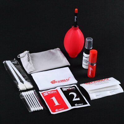 EIRMAI 9 in1 Professional Lens Cleaning Kit For Canon Nikon Sony All DSLR Camera