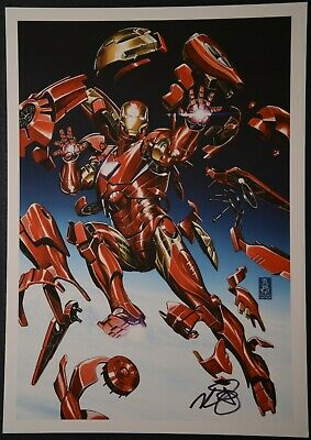 Ironman Print Signed by Mark Brooks