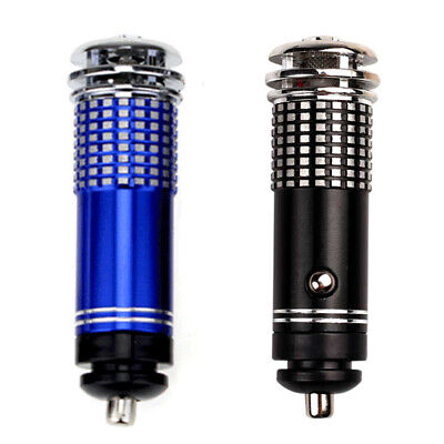 2X(Universal Auto Car Fresh Mini Purificatore d'aria 12V Ionic Purifier Oxy I6K7