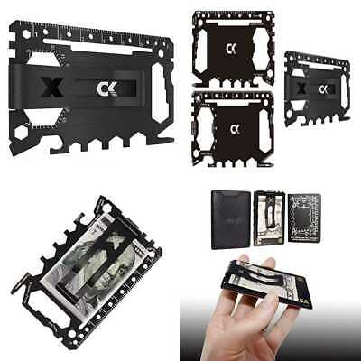Credit Card Multitool 46 In 1 Multipurpose Pocket Tool Pro. Tactical Wallet & Mo