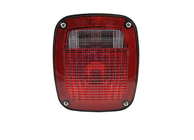 Grote STT LAMP, RED, SUPERNOVA LED, W/LIC, DOUBLE OE CONNECTION (53650)