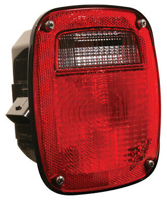 Grote STT LAMP, RED, SUPERNOVA LED, W/LIC, RH, OE CONNECTION (53630)
