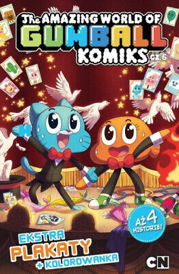 The Amazing World of Gumball T.6 Komiks - praca zbiorowa