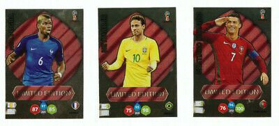 Panini Adrenalyn XL FIFA World Cup Russia 2018 Limited Edition Cards CHOOSE