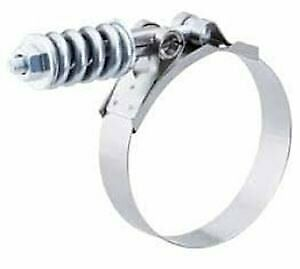Spring-Loaded T-Bolt Clamp-HvyDtyLrgSpringMinDia4-9/16 MaxDia4-7/8 - (Pack of 1)