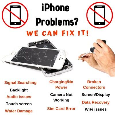 iPhone 8/ iPhone 8 Plus Audio IC No Mic/Speaker Slow Boot Repair Service FAST