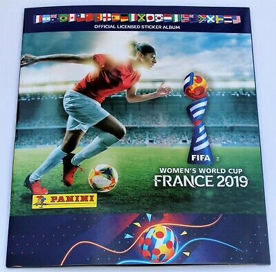 Panini Women´s World Cup 2019 France - empty album incl. 6 free stickers NEW