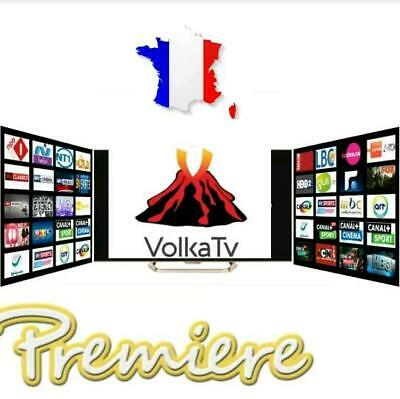 Iptv Volka Pro 2 12 Mois Abonnement +8000 Chaines Vod Android M3U Box Mag.