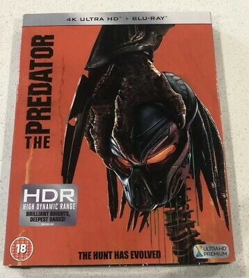 The Predator 4K Ultra HD UHD Blu-ray  2018) - New & Sealed