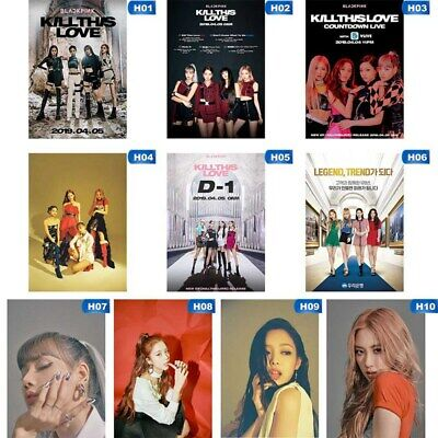 Kpop BLACKPINK 2nd Mini Album KILL THIS LOVE Photo Poster Hanging Painting US