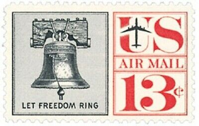 C62 - Liberty Bell - US Mint Airmail Stamp