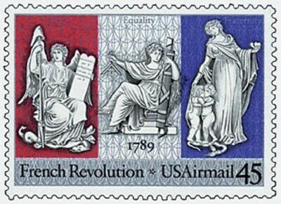 C120 - French Revolution - US Mint Airmail Stamp