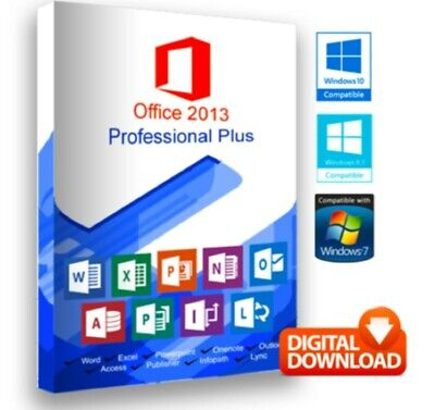 Microsoft Office 2013 Pro Plus MS Office Professional - Deutsch version