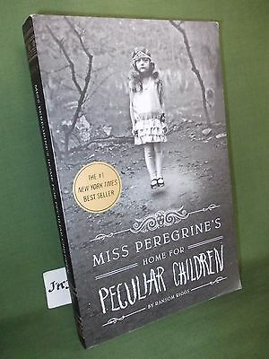 Ransom Riggs Miss Peregrine's Home For Peculiar Children Usa Paperback Edition