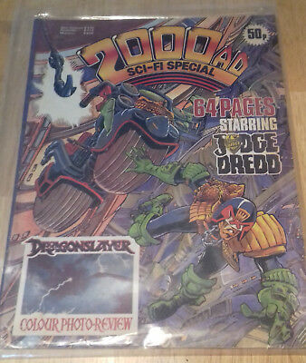 2000ad Sci Fi Summer Special 1982 Very Rare Vintage UK Comics