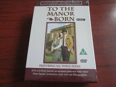 To The Manor Born Complete Series 1 2 3 [Dvd Box Set] New And Sealed Region 2 Uk