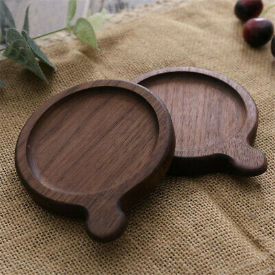 Wooden Round Heat Resistant Mat Pot Mat Non-Slip Kitchen Table Cup Pad Z