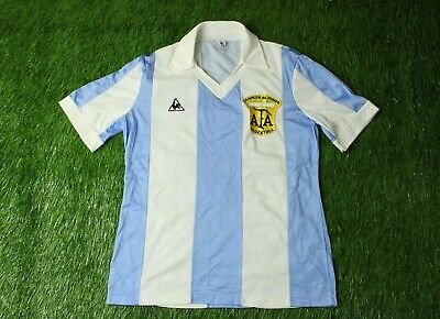 Argentina TEAM 1978 1980 RARE FOOTBALL SHIRT JERSEY HOME LE COQ SPORTIF ORIGINAL
