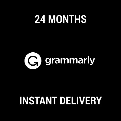Grammarly Premium Subscription / 24 Months / Instant Delivery / Worldwide