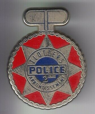 Rare Pins Pin's .. Police Nationale Ilotiers 2 Eme Arrondissement Paris 75 ~Eh