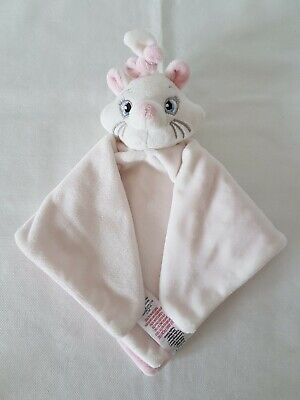 primark disney marie cat aristocats comforter baby soft toy and hand puppet VGC