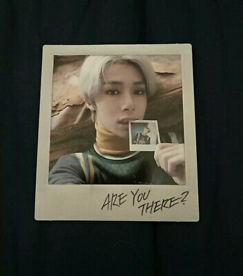 MONSTA X 2nd Album Are You There SHOOT OUT Official Hyungwon Special Polaroid