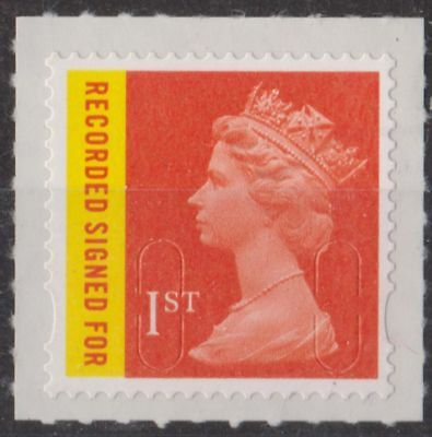 z2597) Great Britain - Machins. 2009. MNH. SG u3045 1st Signed for No codes